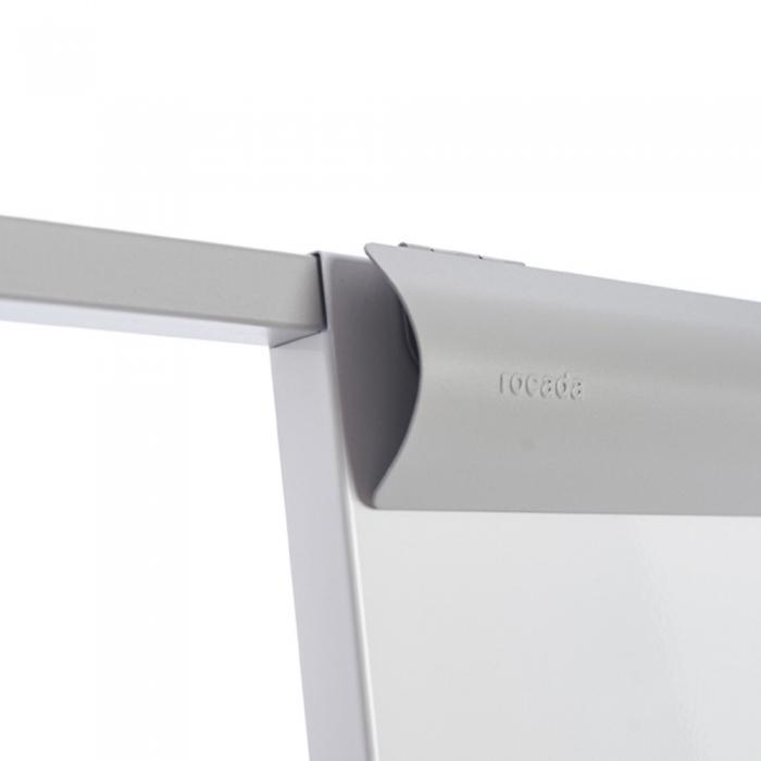 Flipchart Multifunctional mobil 360° magnetic, reglabil pe inaltime, Rocada 8