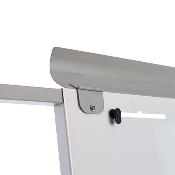 Flipchart Multifunctional mobil 360° magnetic, reglabil pe inaltime, Rocada 7