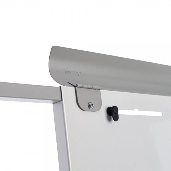 Flipchart mobil magnetic cu baza din plastic Rocada 2