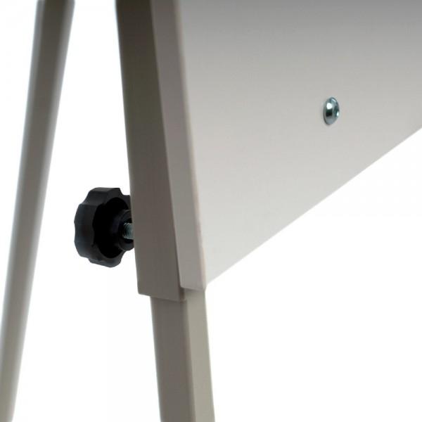Flipchart tip trepied, structura metalica,reglabil pe inaltime 3