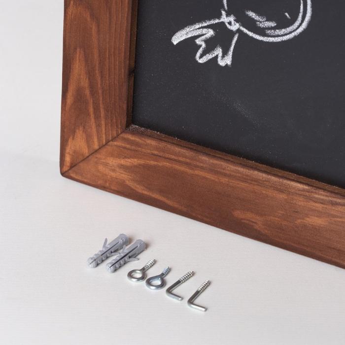 Panou de informare de perete, pentru scris cu creta, Rocada 2