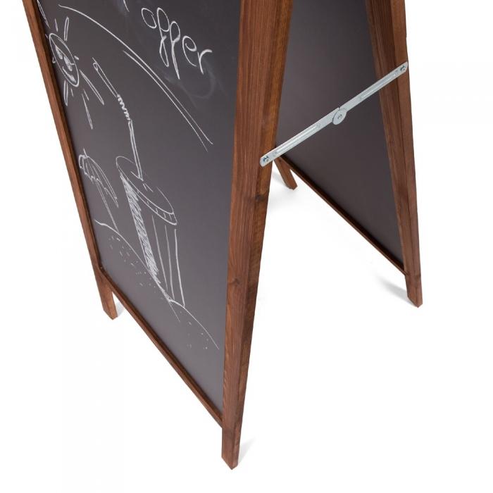 """Panou de informare de podea, """"A-Board"""", pentru scris cu creta, Rocada 1"""