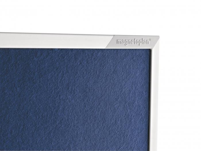 Panou Prezentare Mobil Textil Albastru 1200x1500mm MAGNETOPLAN 5