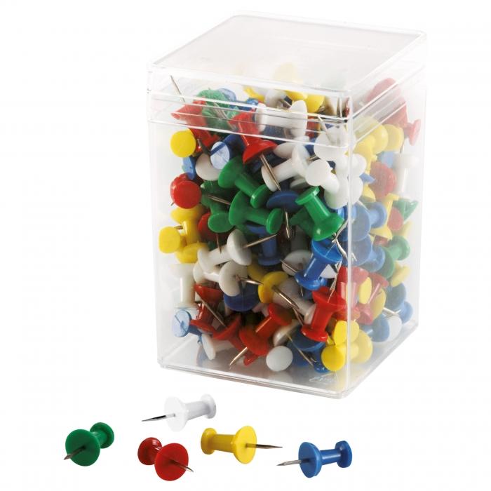 Pioneze cu maner 200 buc / cutie Magnetoplan 0