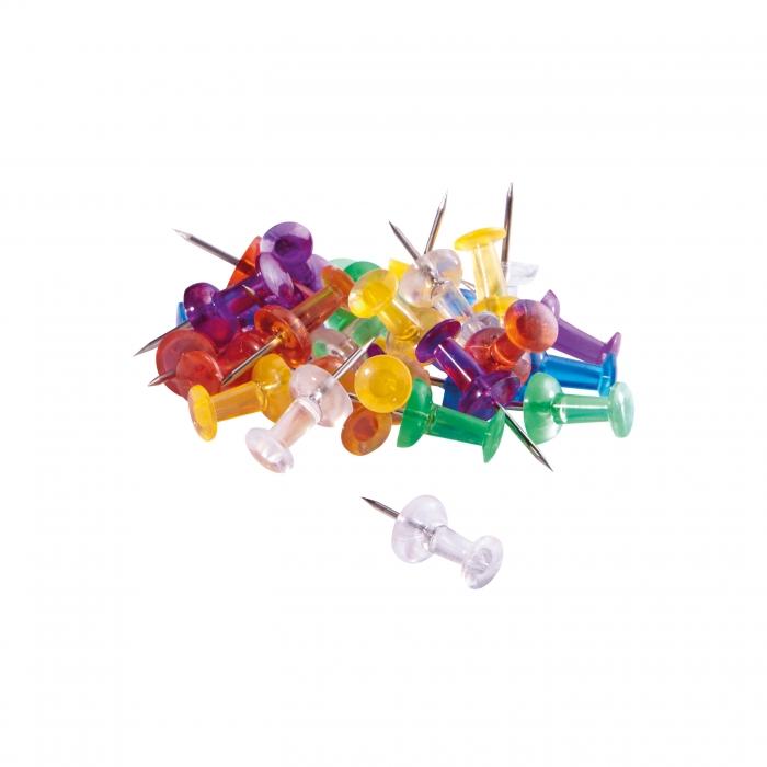 Pioneze Panou Pluta 30 buc / cutie plastic DELI 0