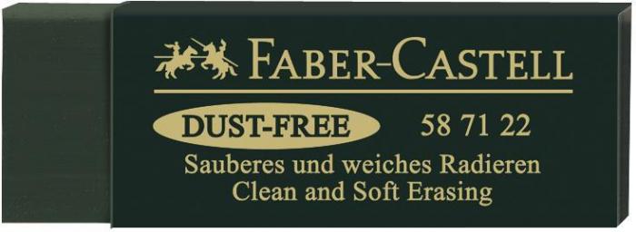 Radiera Arta Dust Free 20 Verde Faber-Castell 0