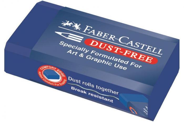 Radiera Creion Dust Free Art&Graphic 24 Faber-Castell [0]