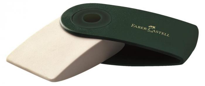 Radiera Creion Sleeve Verde Faber-Castell 0