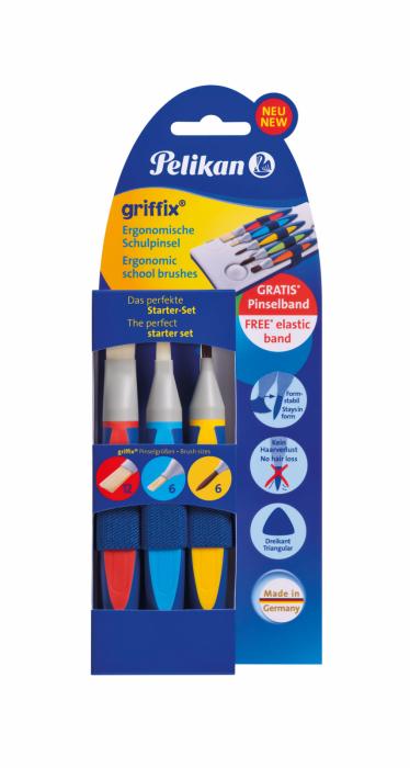 Set 3 Pensule Griffix Pelikan 1