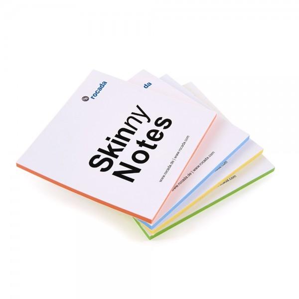 Skinny notes 125 x 125 mm, set 4 blocuri de 100 foi Rocada [0]