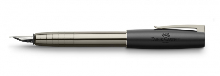 Stilou Loom Gunmetal Shiny Faber-Castell 1