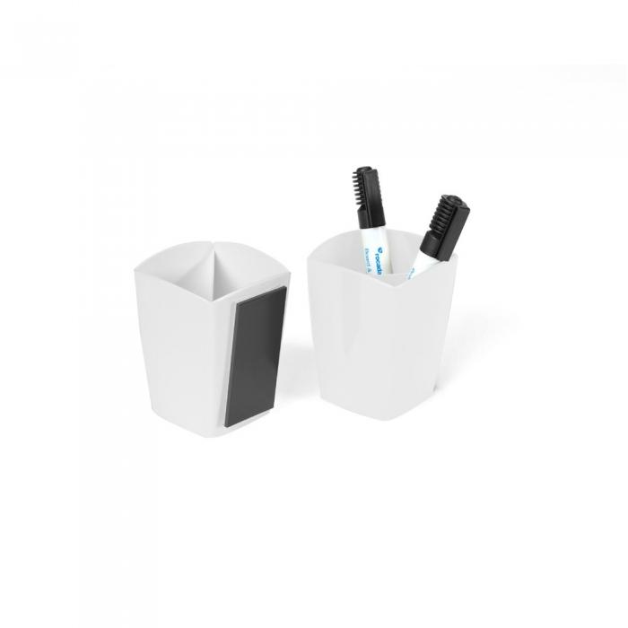 Suport magnetic pentru markere, culoare alb Rocada 0