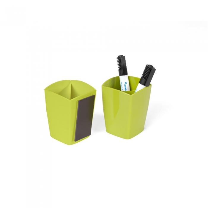 Suport magnetic pentru markere, verde, Rocada 0