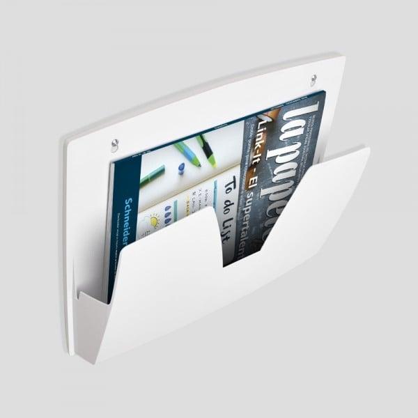 Suport magnetic pentru reviste, aplicabil pe orice suprafata metalica [0]