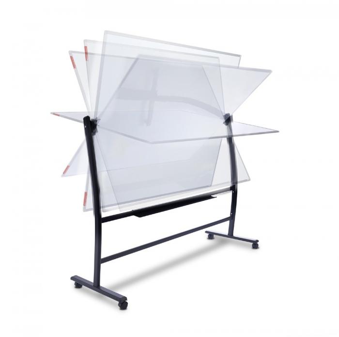 Suport mobil pentru whiteboard 360 grade Rocada 0