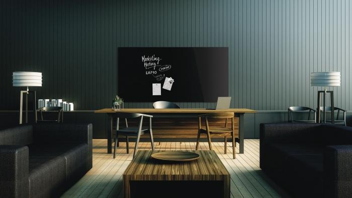 Tabla Magnetica de Sticla Negru Design Glassboard Magnetoplan [2]