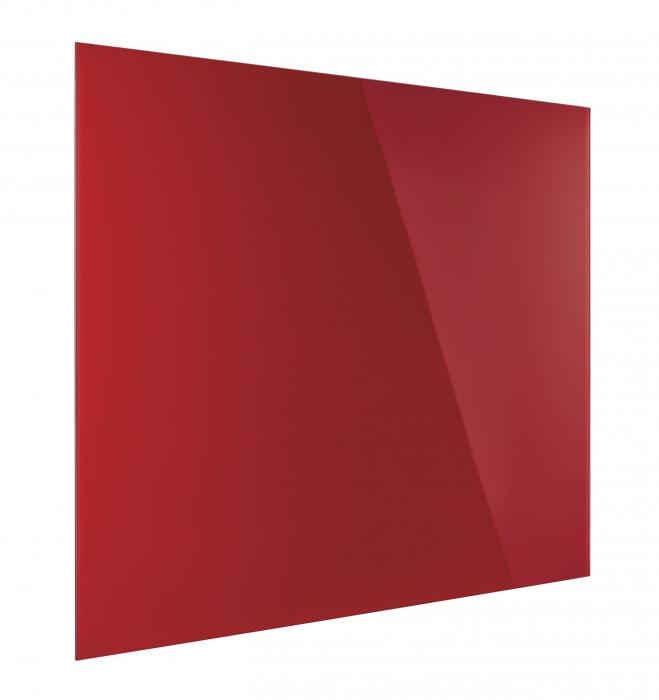 Tabla Magnetica de Sticla Rosu Intens Design Glassboard Magnetoplan [2]
