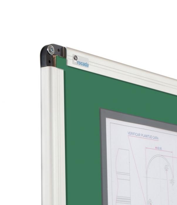 Tabla verde magnetica cu suprafata emailata Rocada (3 dimensiuni) 2