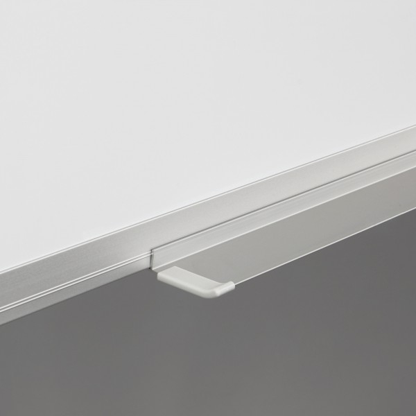Whiteboard fata dubla cu rama din aluminiu lacuit Rocada 1