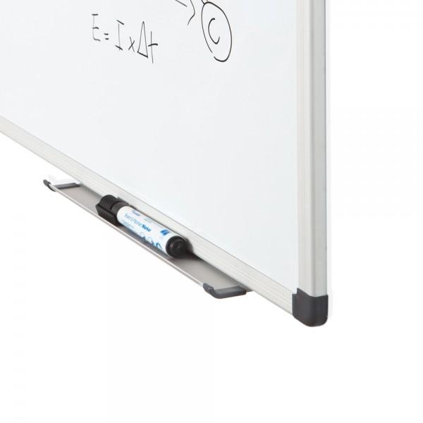 Whiteboard simplu cu rama din aluminiu emailat Rocada 2