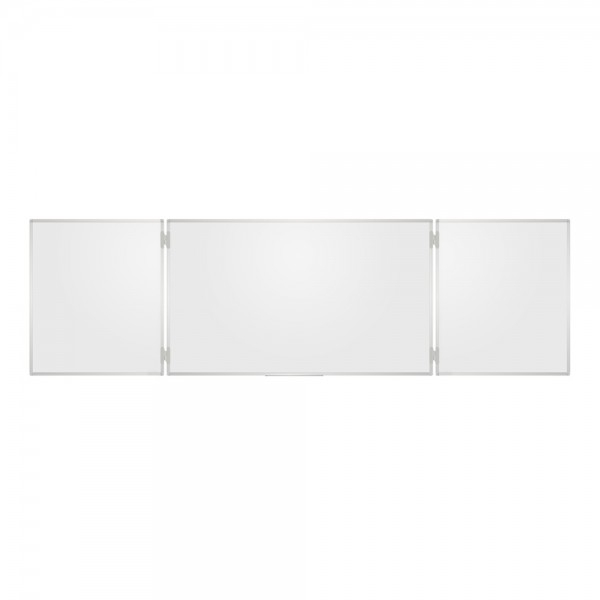 Whiteboard triptic, magnetic cu suprafata emailata 0