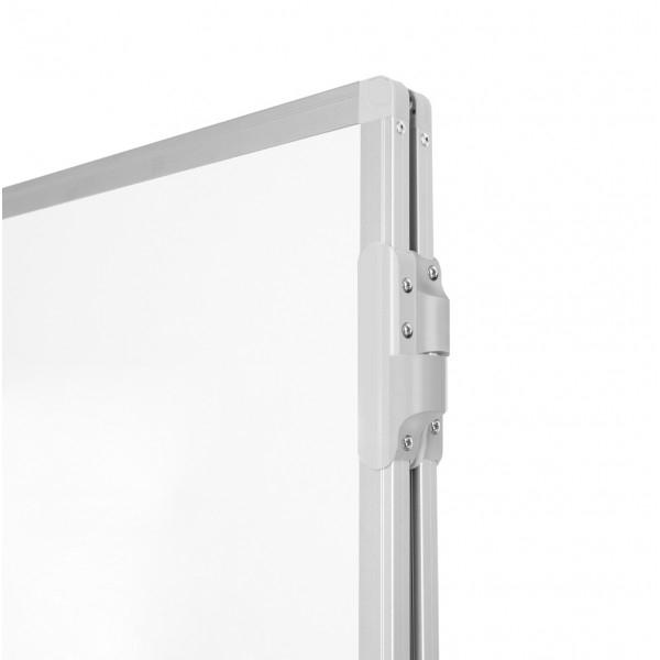 Whiteboard triptic, magnetic cu suprafata emailata 2