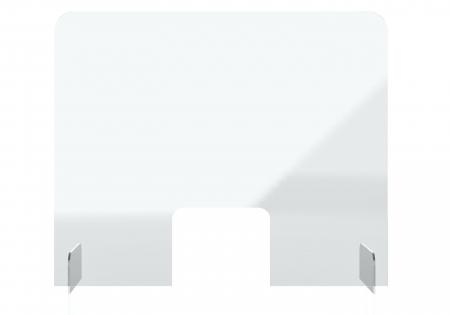 Protectie acryl pentru tejghea, birou 850*700(h) mm Magnetoplan0