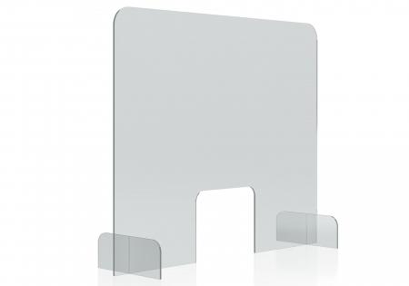 Protectie acryl pentru tejghea, birou 850*700(h) mm Magnetoplan1