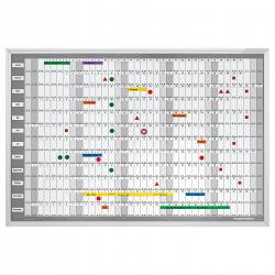 Planner Anual Manager 925x625mm Magnetoplan0