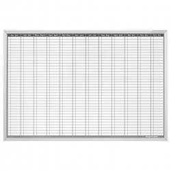 Planner Anual Permanent 900x600mm Magnetoplan1
