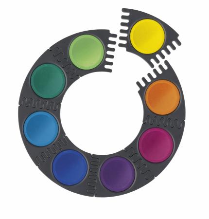 Acuarele 12 Culori Connector Faber-Castell [1]