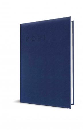 Agendă datată săptămânală 2021 A4 albastru închis Herlitz0