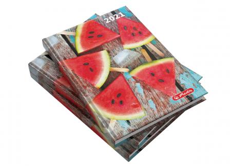 Agendă datată 2021 A5 Watermelon Herlitz0