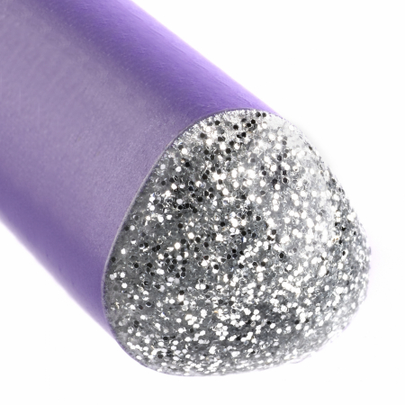 Creion Grafit B Sparkle Jumbo Violet 2019 Faber-Castell [2]