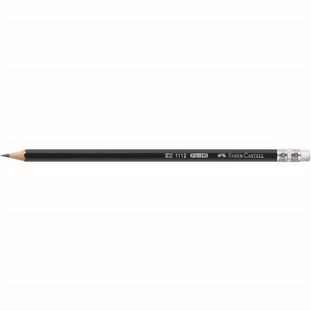 Creion Grafit Cu Guma 1112 HB Faber-Castell [1]