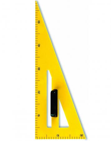 Echer din plastic 60 cm, 60grade FARA [0]