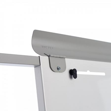 Flipchart mobil magnetic cu baza din plastic Rocada2
