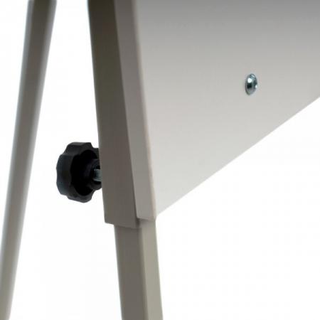 Flipchart tip trepied, structura metalica,reglabil pe inaltime3