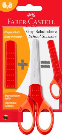 FOARFECA SCOLARA CU PROTECTIE GRIP ROSIE FABER-CASTELL1