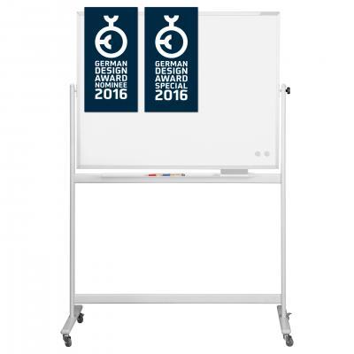 Whiteboard pe stand mobil, SP rotativ 360 gr Magnetoplan (5 variante de marime)0