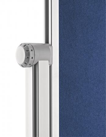 Panou Prezentare Mobil Textil Albastru 1200x1500mm MAGNETOPLAN6