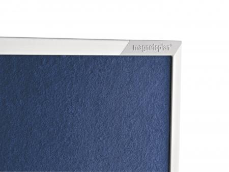 Panou Prezentare Mobil Textil Albastru 1200x1500mm MAGNETOPLAN5