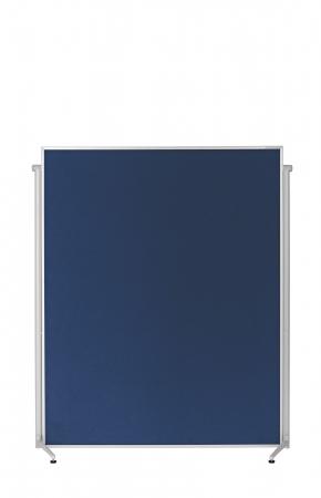 Panou Prezentare Mobil Textil Albastru 1200x1500mm MAGNETOPLAN2