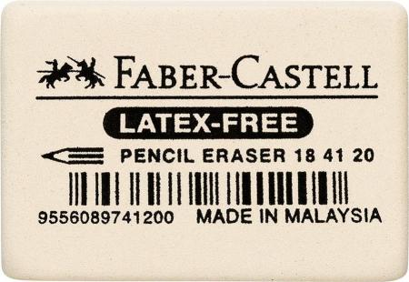 Radiera Creion 7041-20 40 x 27 x 13 mm Faber-Castell [0]