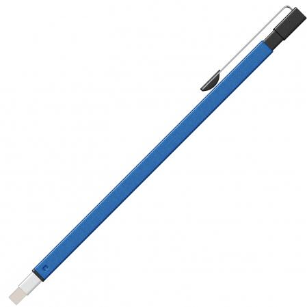 Radiera Mecanica Tombow Mono Zero Metal Rectangle Blue TIP1