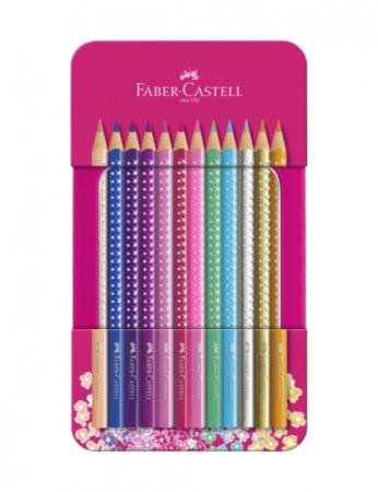 Set 12 Creioane colorate Sparkle Faber-Castell [3]