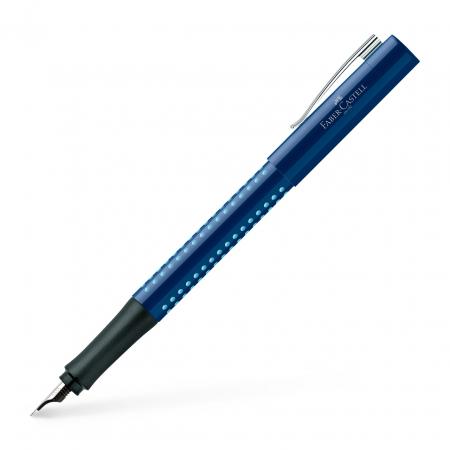 Stilou Grip 2010 Albastru-Bleu Faber-Castell [0]