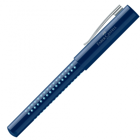 Stilou Grip 2010 Albastru-Bleu Faber-Castell [1]