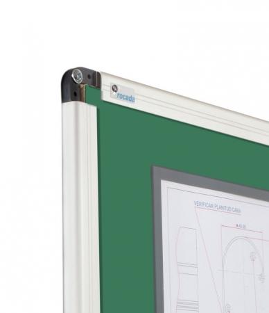 Tabla verde magnetica cu suprafata emailata Rocada (3 dimensiuni)2