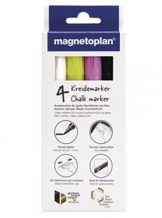 Set Markere Creta Lichida pentru Glassboard Magnetoplan [0]